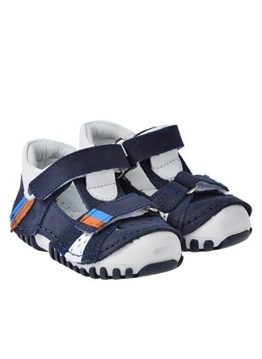 Kiko Kids Kiko Kids Teo 132 %100 Deri Orto pedik Cırtlı Erkek Çocuk Ayakkabı Lacivert